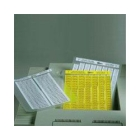 Component Label, 0.750 in. W x 0.250 in. L Label, Polyester, Silver, 9 Labels/Row