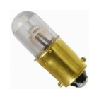 Miniature Neon Light Bulb 0.87W T-3 1/4