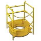 Guard, Manhole, 12 in. H