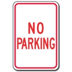 Traffic Signs Reflective Aluminum Front - No Parking - 88410