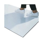 Mat, Specialty, White, 2.00 ft W x 3.75 ft L