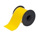 Washdown Resistant Label, Yellow, 4 in. W x 50-ft L Tape, BBP31, BBP33 Printer