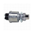 Pushbutton Switch, SPST, On-Off (momentary/maintained), 24VDC, 35A/12Vac, 20A/24Vdc, Round Button