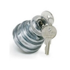 Anti-Restart Ignition Switch, 12Vdc, 30A/12Vdc, 3 Position, Off-On-On (maint), Screw Terminals