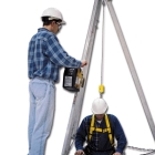 Tripod, Rescue System, 7 ft H, Galvanized Cable