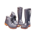 Boot, Chemical Resistant Steel Toe, Foot Size 8
