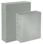 Box, Pull/Junction; Steel; Screw-on Cover; HxWxD: 24 x 18 x 12 in.
