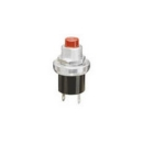 Non-Lighted Pushbutton Switch Black Plastic SPST NO 125VAC