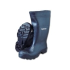 Boot, Knee Steel Toe, Waterproof, Foot Size 7