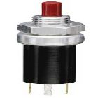 Switch, Pushbutton, 250mA/115Vac, DPDT