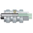 Aluminum Straight Teck/Jacketed MC Cable 4 in.
