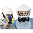 Hood, For Use With Half Mask Respirators, Tyvek