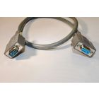 Molded D-Sub Cable Assembly DB9 Female - DB9 Male