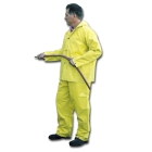Bib Style Pant, 36 to 38 in. Waist/Small, Neoprene Coating over Nylon, Yellow