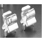 Midget Fuse Clip, 1/4 in. Fuse, 0.420 x 0.280 in., Cartridge Brass, Bright Tin, PCB Pin Mounting