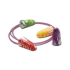 Disposable Earplugs Assorted Colors Foam Corded - 76766