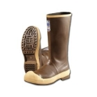 Knee Boot, 16 in. H, Size 6 Foot, Waterproof/Seamless Construction, Brown, Steel Toe
