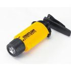 Headlamp, AAA Battery, 3 Cells, (3)LED White Bulb, Plastic, Yellow, 3.52 in. L x 0.85 in. W