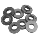 Clear Hole Spacer #6 Round Nylon