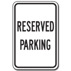 Traffic Signs Reflective Aluminum Front - Reserved Parking - 88415
