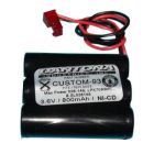 NICAD Battery, Electronic Battery, 3.6V -