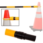 Cone bar Black/Yellow - 47334