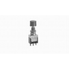 Pushbutton Switch, DPDT, On-On (momentary), 250VAC, 6A/125Vac, 3A/250Vac, 3A/30Vdc