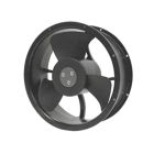 Axial Fan, 115V AC, 33W, 550 CFM, 254 mm Dia. x 89 mm D, 55 dB, Metal Housing