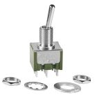 Toggle Switch, DPDT, On-Off-On (maintained), 250VAC, 6A/125Vac at 125V Solder Lug Terminal