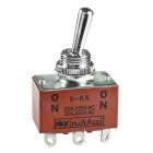 Toggle Switch, DPDT, On-On (maintained), 250Vac, 20A/125Vac Solder Terminal