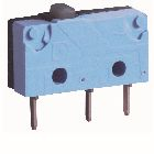 Limit Switch, 5A 250VAC/DC Contact, SPDT 1NO 1NC Contacts, Plunger Head, Spring Return
