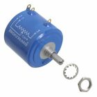 Linear Rotary Potentiometer, 10000 Ohms, Plus or Minus 3 Percent Tolerance, 5W Max, IP40