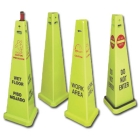 Traffic Cones and Delineators Plastic Front - Caution Work Area - 11988