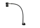 Task Light, LED Lamp, Direct Mount, Flexible Adjustable Arm, Black