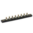 Terminal Block, Single Row, 8P, Threaded Stud/Bus Bar Terminal, Surface/Eyelets Mount