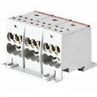Terminal Block, 3 Poles Per Block, 8-2 Primary, 14-4 Secondary Conductor, 115 Amps