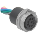 Female, Receptacle Straight Single Keyway 30VAC/DC 3A