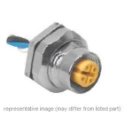 Female, Micro Receptacle Straight Single Keyway 250VAC/DC 4A