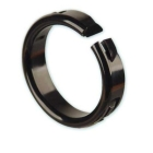 Hole Bushing, Standard Nylon Push-In One-Piece 0.375 in