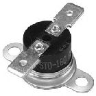 Thermostat, Disc, Bi-Metal, 1 Pole, 93 to 107 deg F