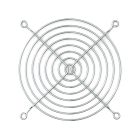 Fan Guard, 31.5mm, 32mm Hole Centers, (2) Rings Configuration, Nickel Chrome
