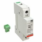Surge Protective Device, 220/380/240/415VAC, 1 Phase 1 Pole 1 Wire and Ground, 50kA, L-N, L-G