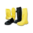 Overshoe, Medium, Size 8 to 9-1/2 Mens, Yellow, PVC Sole
