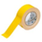 Floor Marking Tape, Blank, 2 in. W x 100 ft L, Yellow, Polyester/Adhesive