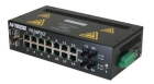 Industrial Ethernet Switch Managed (14) RJ45 10/100Base TX