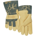 Gloves, Leather Palm, Pigskin Palm and Back, X-Large