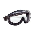 Navy Frame- Grey Headband Safety Goggle Google Clear - 59269
