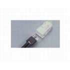 Modular Plug, Cat 5e, RJ45 Connector, 8 Position, 24 AWG Str 0.190-0.220 in. Round Cable, Clear