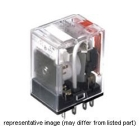 Miniature Power Relay with Reverse Latching, 120VAC Coil, 8-Blade Terminal, 250VAC, 5A, DPDT