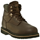 Boot, Plain Toe Work, Lace-Up Closure, Foot Size 9.5